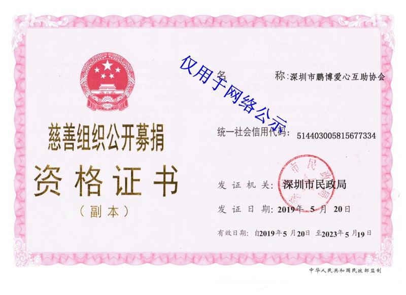 慈善组织公开募捐资格证书(副本)_网络公示.jpg